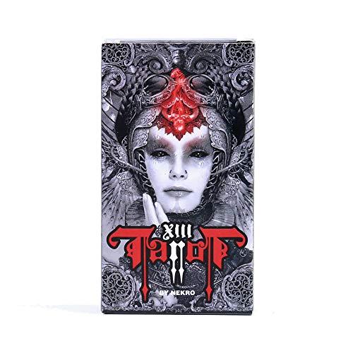 SYJH baraja de Tarot Cartas De Tarot Juegos Oscuros, Cartas De Tarot para Juegos De Mesa