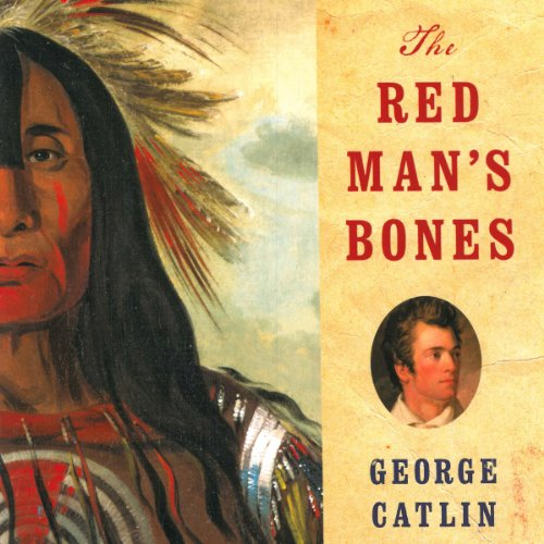 The Red Man's Bones audiobook cover art