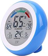 Qotone Termómetro Digital higrómetro °C /°F Temperatura Medidor de Humedad Máx. Mín. Valor Tendencia Pantalla