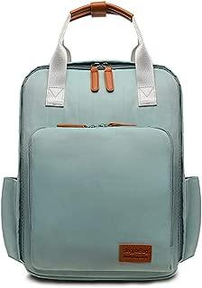 LPFMM Mummy Bag Nylon Waterproof Backpack Large Capacity Lightweight Portable Out Single Shoulder Messenger Bag Backpack (Color : Green)