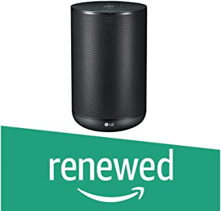 (Renewed) LG XBoom AI ThinQ WK7 AI Speaker with Built-in Google Assistant (Black)