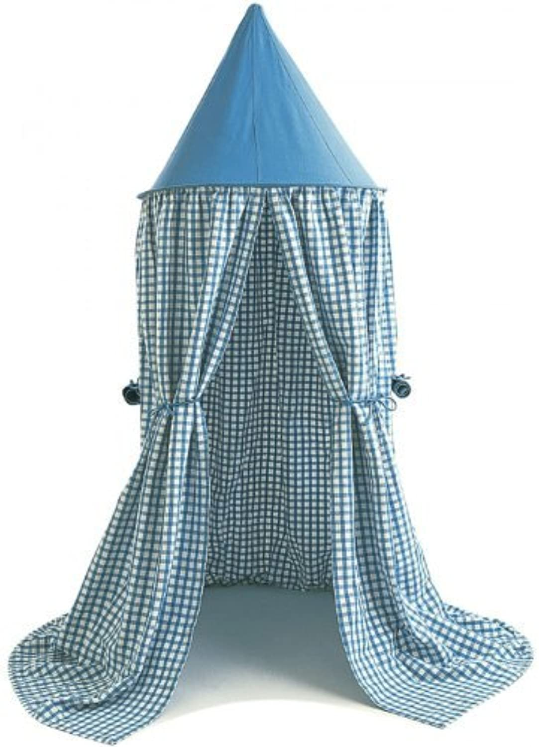 Win Green HANBL Hanging Tent bluee Gingham by Win Green