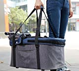 ibiyaya Express Hundebuggy Travel System, denim - 4