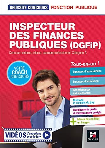 Réussite Concours Inspecteur des finances publiques DGFIP - Préparation complète