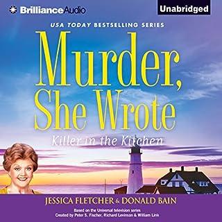 Murder, She Wrote: Killer in the Kitchen audiobook cover art