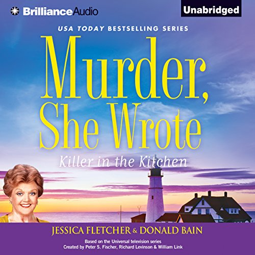 Murder, She Wrote: Killer in the Kitchen audiobook cover art
