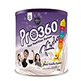 Pro360 Kids Nutritional Protein Drink Supplement Powder for Growing Children (Age 3+ Years) Instant...