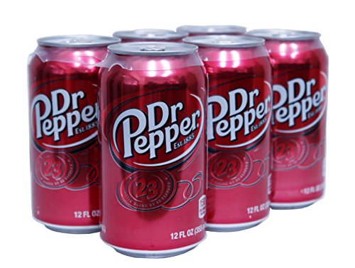 ドクターペッパー USA版 355ml×6缶