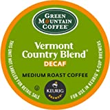 Keurig, Green Mountain Coffee, Vermont Country Blend(melange)Decaf, K-Cup packs, 50 Count