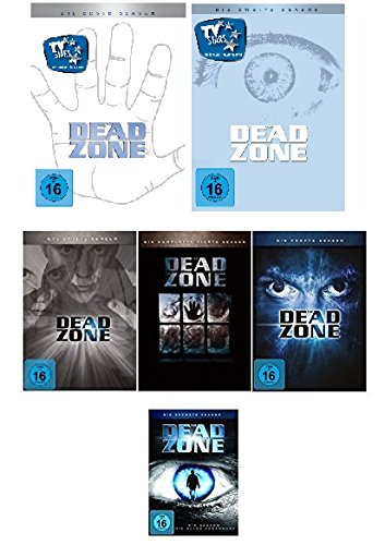 Dead Zone Season 1, 2, 3, 4, 5, 6 im Set - Deutsche Originalware [20DVDs]