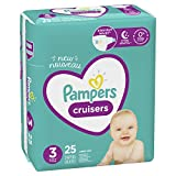 Pampers Cruisers Diapers Size 3 25 Count