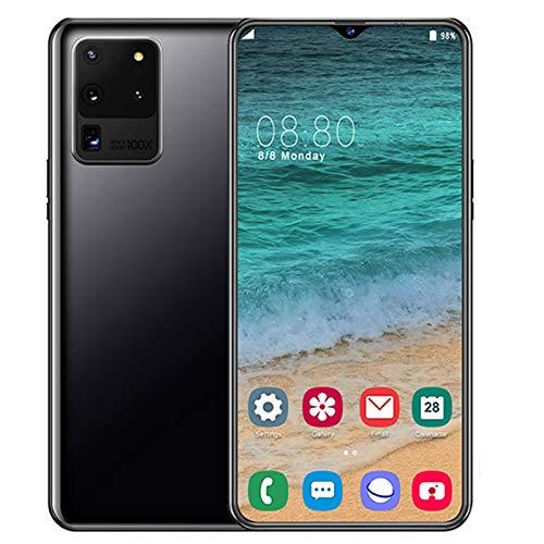 LQIQI p40pro Smartphones Doble SIM 6,7 Pulgadas Cámara Dual de 13MP + 32MP Water-Drop Screen 6G+128G WiFi