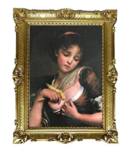 Lnxp Bild Bilderrahmen Foto 90x70 cm AKT EROTIK SEXY A. FORNONI Exklusive Reproproduktion Bilder mit...