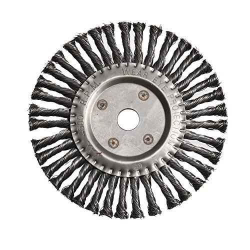 MongKok Runde Twist Wire Wheel Bürste 200mm Kegel geknotete Weed Brushes Brushcutter