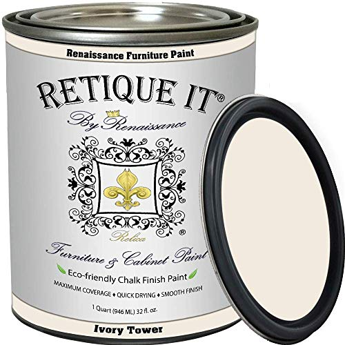 Retique It Chalk Furniture Paint by Renaissance DIY, 32 oz (Quart), 02...