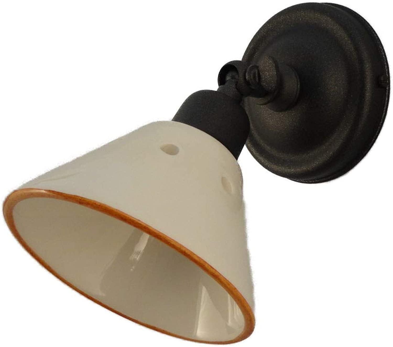 L5 Wandleuchte, drehbar, Keramik-Keramik, Wei glnzend A1755A103 TIPO SPOT Handgearbeitet