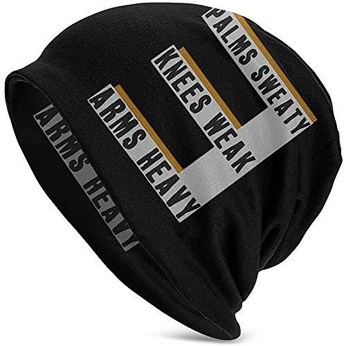 Toboggan Watch Caps, Unisex Stretchy Hedging Hut, Adult Slouchy Beanie Hut, Casual Headgear, Eminem-Lose-Yourself-Lyrics Männer Frauen Strickmütze, Winter Warm Cap, Jungen und Mädchen Schädelkappe