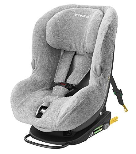 Bébé Comfort badstof hoes voor autostoelen, Milofix, Cool Grey