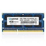 4GB DDR3 1066MHz PC3-8500 Unbuffered Non-ECC 1.5V CL7 2Rx8 Dual Rank 204 Pin SODIMM Portatil Memoria Principal Module Upgrade