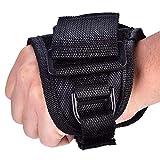 Diving Flashlight Glove, Adjustable Wrist Strap Glove Flashlight Wrist Holder Underwater Diving Torch Flashlight Holder