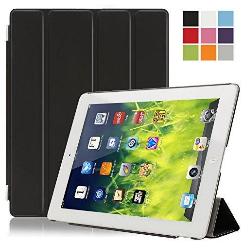 Besmall iPad 2/3/4 Smart Cover, Smart Cover per Apple iPad 2/3/4 A1395 A1397 A1396 A1416 A1430 A1403 A1458 A1459 A1460 Case Protettivo