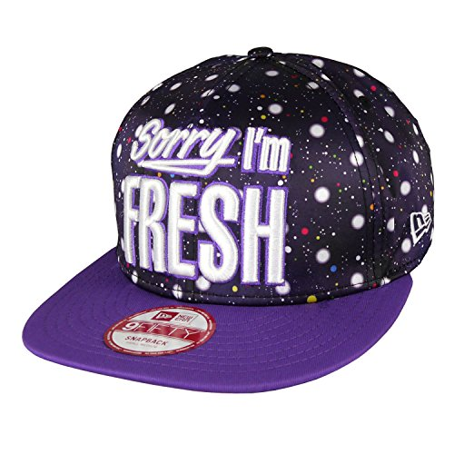 New Era - Casquette Snapback Homme 9Fifty Outtaspace - Purple - Taille S/M