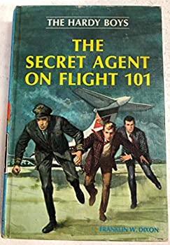 Hardcover The Hardy Boys, the Secret Agent on Flight 101 Book