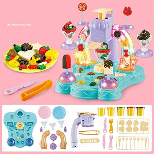 45 stuks magische klei deeg gereedschap natuurkleur diy lucht droge klei met dessert modellering gereedschap als beste cadeau voor kinderen speelgoed voor kinderen playdough
