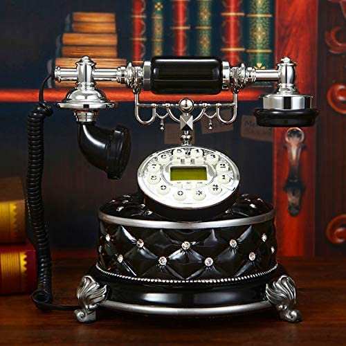 Vintage Telephone with Push New life Bombing free shipping Landline Dial Phone Button