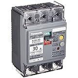 パナソニック(Panasonic) 漏電ブレーカ BJW型 O.C付(モータ保護兼用) BJW3303
