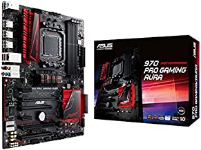 ASUS 970 Pro Gaming/Aura ATX DDR3 AM3+ AMD 970 + SB 950 SATA 6Gb/s USB 3.1 ATX AMD Motherboard