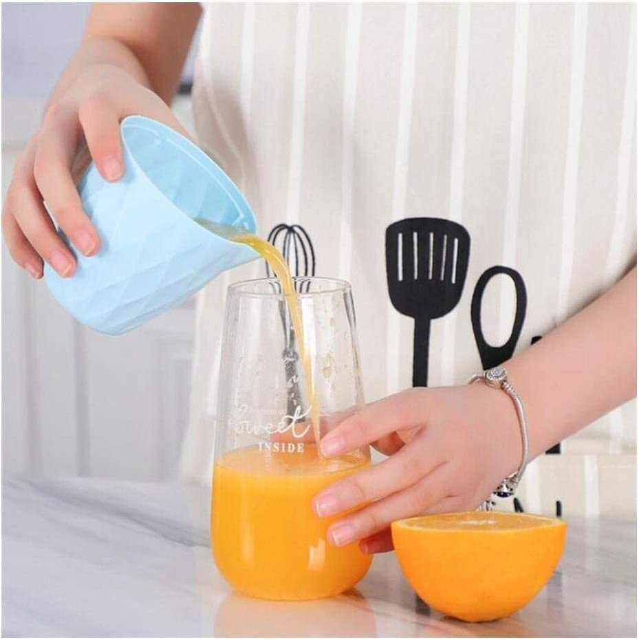 Manual Nuevo Manual de la mano del exprimidor de limón Exprimidor de naranja Zumo de fruta Press Herramienta (Color : Green) Blue