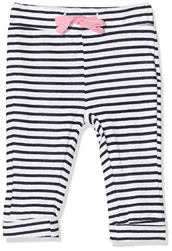 Noppies G Slim Fit Pants Charter Oak Y/d Str Pantalones, Multicolor (Dress Blue P093), 68 para Bebés