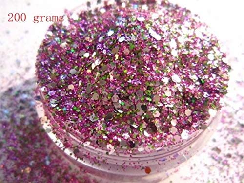 Gabcus Nail Glitter Powder Max 78% Deluxe OFF Pink Green Art DIY Silver Brown