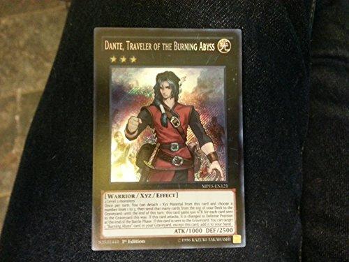 Yu-Gi-Oh! - Dante, Traveler of the Burning Abyss (MP15-EN121) - Mega Pack 2015 - 1st Edition - Secret Rare