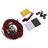 MonkeyJack Flash RC LED Light Kit for RC Helicopter Airplane Aircraft Plane 8 LED Lighting System