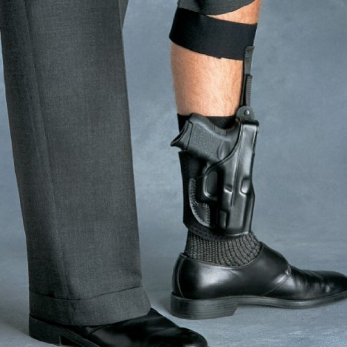 Galco AG652B Ankle Glove Ankle Holster – S&W M&P Shield,...