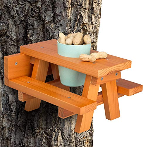 Enclave Woods Large Squirrel Feeder - Quality...