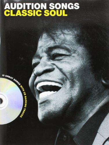 Audition Songs: Classic Soul -Male Voice- (Book, CD): Noten, CD für Männerstimme (Gesang)