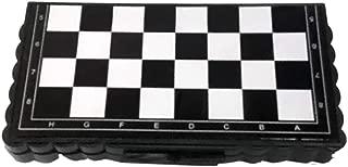 Moonsun08 Magnetic Travel Chess Set Folding Board Parent-Child Educational Toy Family Game 13cm x 12.7cm