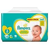 Pampers Premium Protection 81659589 pañal desechable Niño/niña 3 98 pieza(s) - Pañales desechables (Niño/niña, Tape diaper, 6 kg, 10 kg, Multicolor, Velcro)