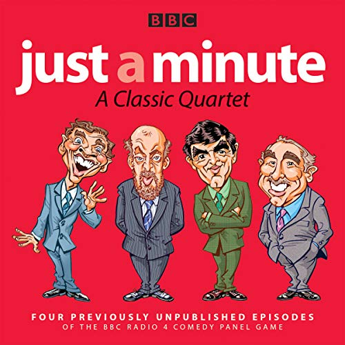 Couverture de Just a Minute: A Classic Quartet