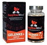 SuppYourMind Gelenke + Komplex   die natürliche Gelenkkapsel mit Hagebutte, MSM, Glucosamin Sulfat,...