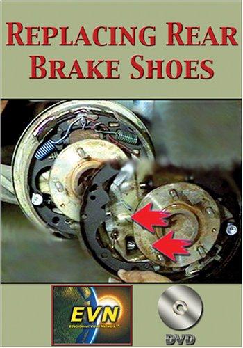 Replacing Rear Brake Shoes DVD Popular overseas Rare