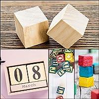 Kurtzy Cubi Legno da Decorare (30 Set) - Cubi di Legno Decorare 3 x 3 x 3 cm - Cubo Legno di Pino Naturale Grezzo - Cubetti di Legno per Fai da Te, Stampi, Arte e Artigianato, Puzzle e Numeri #5