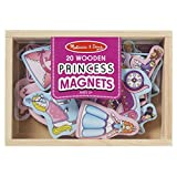 Melissa & Doug- Princess Magneti in Legno, Multicolore, 9278
