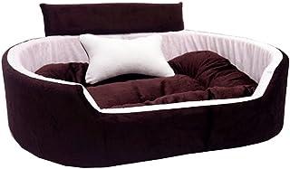 Little Smile Ultra Soft Ethinic Designer Bed for Dog and Cat Export Quality,Reversible Super Soft