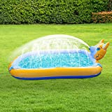 Splash Pad,Juego de Salpicaduras y Salpicaduras,Almohadilla Inflable de Aspersores Juguetes Verano para Niños,Splash Sprinkler Pad Piscina para Bebé (Color : A)