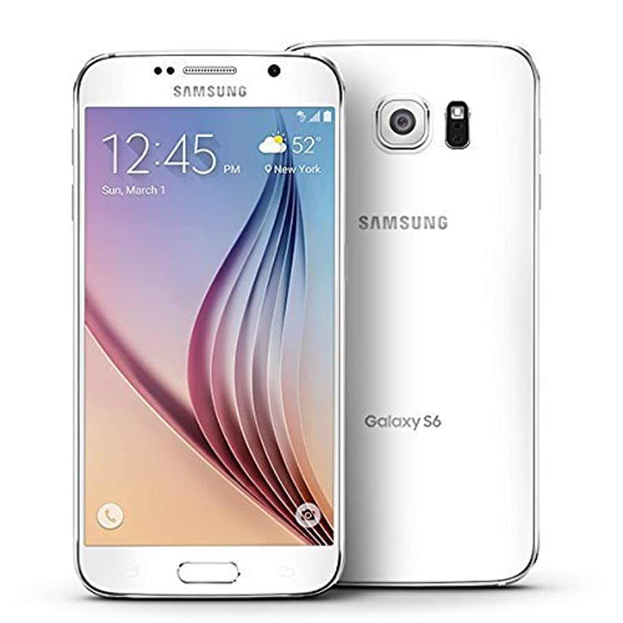 Samsung Galaxy S6, G920P White Pearl 32GB - Sprint (Renewed)