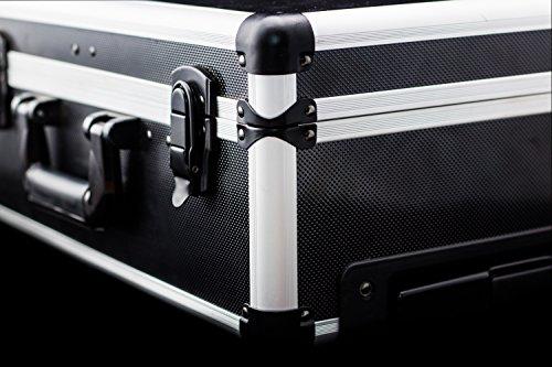 Meister Werkzeugtrolley 156-teilig ✓ Werkzeug-Set ✓ Mit Rollen ✓ Teleskophandgriff | Profi Werkzeugkoffer befüllt | Werkzeugkiste fahrbar auf Rollen | Werkzeugbox komplett mit Werkzeug | 8971440 - 11